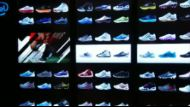 Virtual Footwear Wall* from Adidas and Intel