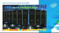 Intel Architecture-based Cloud-RAN Overview
